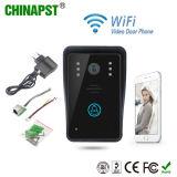Video telefono del portello di WiFi del citofono del campanello senza fili il più ultimo impermeabile (PST-WiFi002A)