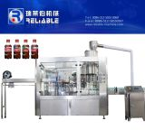 Línea de relleno máquina de la botella de la bebida carbónica plástica de la soda