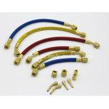 Boyau en caoutchouc de climatiseur de trois couleurs transportant R22, R502, R134A, R401A, R12
