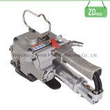 Máquinas pneumáticas de soldagem de bandas e ferramentas Embalagem Correia para animal de estimação de 16 mm (XQD-16)