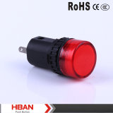 Ce RoHS Ad16 Series Lampe à LED 22mm / lampe de signalisation / lampe pilote / indicateur
