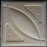 Panneau de mur en cuir d'unité centrale du luxe 3D pour la décoration (HS-MK015)