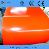 ASTM A653 Z150 PPGI a enduit la bobine d'une première couche de peinture en acier enduite par couleur