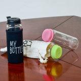 """Bottiglia di acqua di vetro di Borosilicate con Printed&Ldquo """" la mia bottiglia """""""