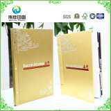 Restaurant의 The Menu를 위한 고품질 Hard Cover Printing Books