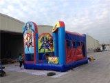 Castelo Bouncy inflável de Leaguetheme de justiça nova da chegada 2016 para miúdos