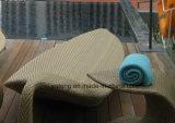単一の&Doubleラウンジとして新式の屋外のホテルの家具のサンルームのプールの側面のSumbed浜の家具のラウンジ(YTF418-1)