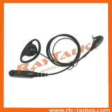 Cuffia avricolare radiofonica bidirezionale con figura di D per il walkie-talkie di Sepura STP9000 STP8000