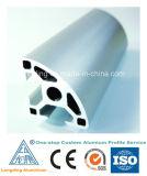Aluminium encadrant des formes en aluminium expulsées