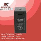 batterie solaire de cycle profond de côté de batterie de 2V 600ah pour le système domestique
