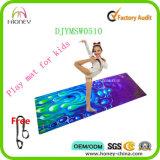 Stuoia combinata amichevole su ordinazione di yoga stampata Digitahi della gomma naturale di Eco