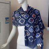 Dickflüssiger Schal-lange Schals des Diamant-60s für Frauen