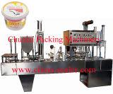 Enchimento do Yogurt e máquina automáticos da selagem