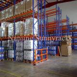 Sunnyrack Lager-Speicher-Stahlladeplatten-Zahnstange