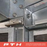Costruzione d'acciaio prefabbricata del comitato di parete del panino dell'unità di elaborazione