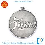 昇進のギフトとしてカスタム米国のスポーツの金属メダル