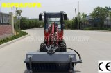 CE Mini Wheel Loader de Haiqin Brand (HQ908) com Mower