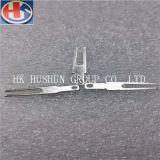 DC 플러그 (HS-FT-001)에 사용되는 최신 판매 높은 정밀도 포크 모양 금관 악기 단말기