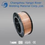Rodillo plástico del alambre de soldadura de Aws A5.18 Er70s-6 MIG de 15kg