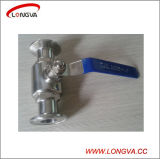 Válvula de bola Blocado Sanitaria Wenzhou acero inoxidable 316