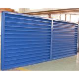Blaues Aluminiumprofil-Blendenverschluss-Fenster K09009