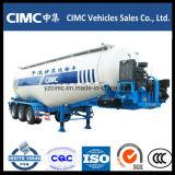 Cimc 3 Weichai 4102 엔진을%s 가진 차축 55m3 시멘트 Bulker 트레일러