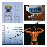 El músculo realza la testosterona inyectable Cypionate de Raws 99.6% del esteroide anabólico