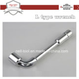 L Milling Socket Wrench, Chrome Plated 12mm