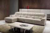 Sofá comercial moderno popular do couro da sala de visitas ajustado (HC3015)