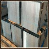 Plaque en acier galvanisée personnalisée par fabrication de la Chine Tainless