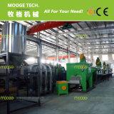 洗浄するプラスチックジャンボ袋低い電力の機械をリサイクルする
