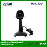 Scanner tenu dans la main de code barres de laser de sens automatique