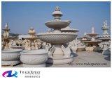 Fontana intagliata mano di marmo della natura