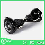 Panneau électrique de reste d'individu du plus nouveau de 10 pouces grand de pneu mini d'individu scooter électrique intelligent de reste