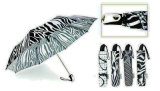 Black&White 3 겹 자동적인 방풍 우산 (YS-3FA22083909R)