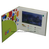 7inch LCD Video Invitation Card Video in Print Video Book Video Brochure (ID7001)