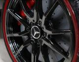 Benz gaf Rit op Auto met de Zetel en het Schilderen van het Leer vergunning