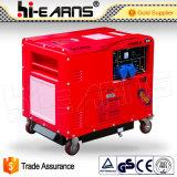5kw stille Diesel van het Type van Luxe Generator met Ronde Dekking (dg6500se-n)