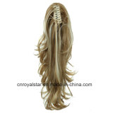 L'America ed Europa Pop Highlights Double Color Fashion Wig Ponytail