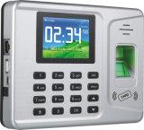 máquina do comparecimento do tempo da capacidade da impressão digital da-F261 Realand 1000