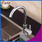Faucet раковины кухни дешевого керамического клапана цены по прейскуранту завода-изготовителя Fyeer латунный
