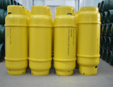 mittlerer Stahlschweißens-Gas-Zylinder des Druck-40L für flüssiges Tefc