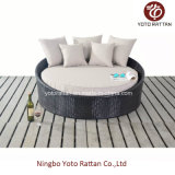 Outdoor Rattan Small Daybed in Steel Frame (1114)