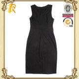 Платье PU повелительниц одежды способа женщин