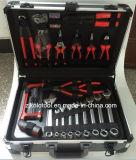 Conjunto de herramienta de aluminio del rectángulo de la alta calidad/conjunto de herramienta de los mecánicos/kit de herramienta del compañero de Kraft