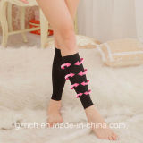 Fetter Burning-Schlaf-dünne Fahrwerkbein-Komprimierungstovepipe-Socken