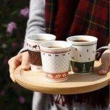 Новая стандартная верхняя машина бумажного стаканчика кофеего Косты сбывания (ZBJ-X12)