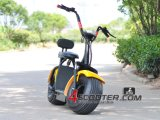 Vespa de la ciudad de la rueda grande E del estilo de Citycoco Scrooser, motocicleta eléctrica para eléctrico adulto