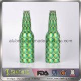 Напечатанная способом алюминиевая бутылка напитка пива с крышкой кроны
