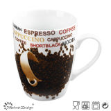 Europen Style 12oz Porcelain Coffee Mug